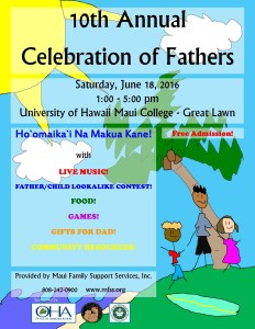 10th Annual Celebration of Fathers @ UHMC Great Lawn